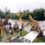 2004 – Botez la fratii tigani din Bontida, pe malul Somesului