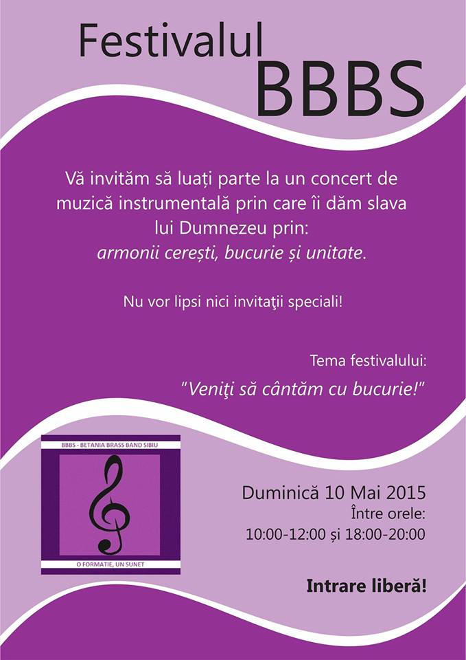 Festivalul National BBBS - ediția a II - a