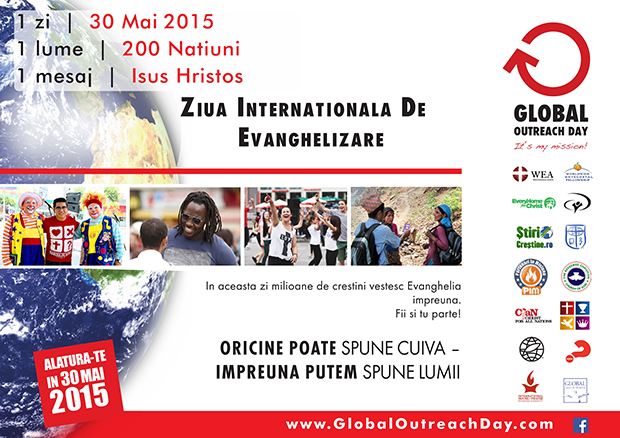 Ziua Internațională de Evanghelizare - 30 mai 2015