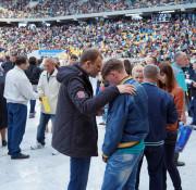 """Franklin Graham şi Michael W. Smith la Festivalul """"Speranţei"""" din Ucraina"""