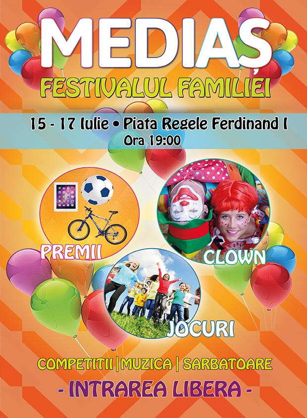 Festivalul Familiei la Mediaș