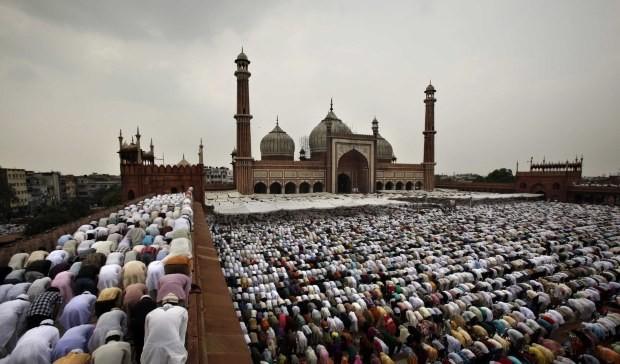 procentul musulmanilor 2070