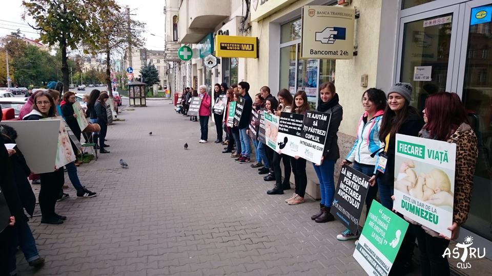 Campania ,,40 de zile pentru viață'' revine la Năsăud