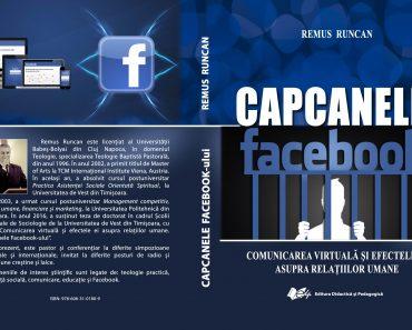 """Comunitatea academică salută apariția cărții """"Capcanele Facebook-ului"""""""