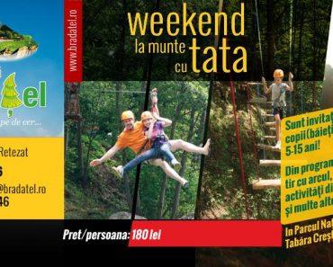 Weekend la munte cu tata – Ediția de primavară