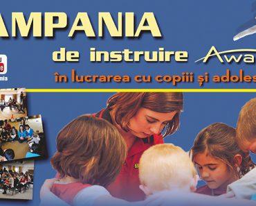 Campania Awana de instruire în lucrarea cu copiii și adolescenții