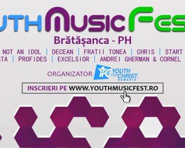 YouthMusicFest 2016 înregistrează cea de-a VII-a ediţie a celui mai aşteptat eveniment muzical pentru tineri