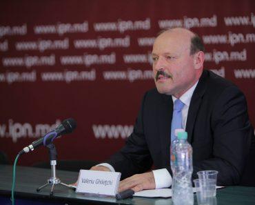 VALERIU GHILEŢCHI şi-a anunţat candidatura pentru preşedinţia Republicii Moldova