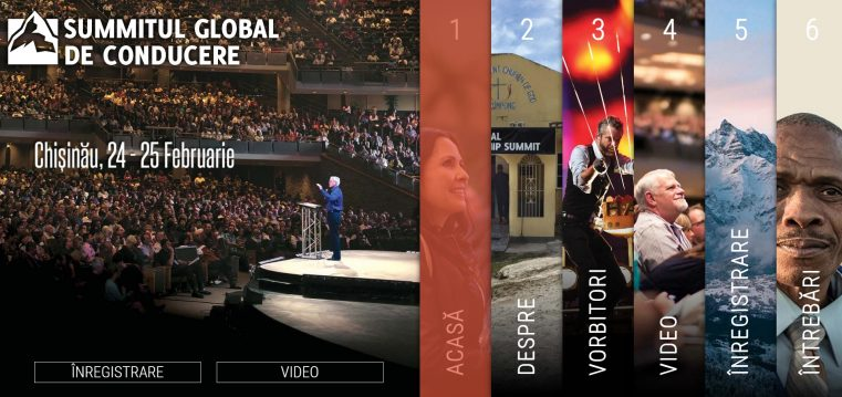 Summitul global de conducere a înregistrat un număr record de participanţi pentru a II-a ediţie în Republica Moldova!