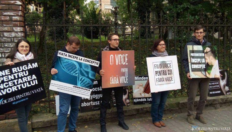"""START campaniei """"40 de zile pentru viaţă"""" în România"""