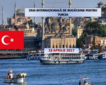 18 aprilie 2017: Ziua Internațională de Rugăciune pentru Turcia