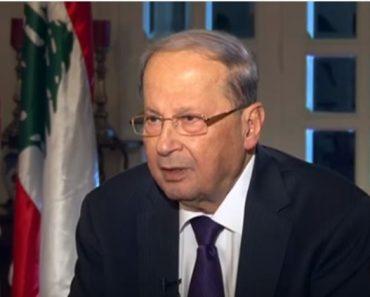 Președintele Libanului aduce un mesaj de Paște la televiziunea creștină SAT-7