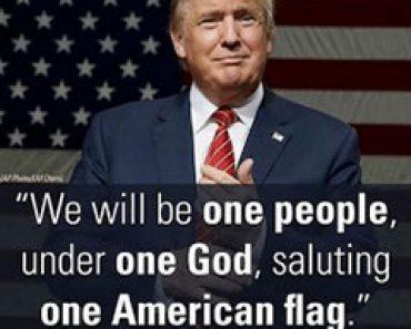 Potrivit unui sondaj de opinie, americanii credinței sunt de partea lui Trump