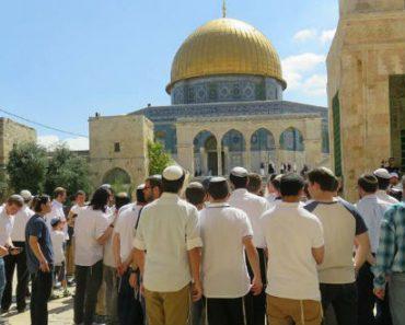 Număr-record de evrei pe Muntele Templului, cu ocazia sărbătorii Tisha B'Av