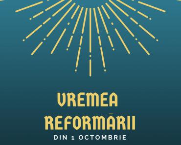 """""""Vremea Reformării"""" la Biserica Betesda, Bistrița"""