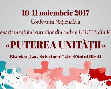 """Conferinţa Naţională pentru Femei: """"Puterea Unităţii"""" la Chişinău"""
