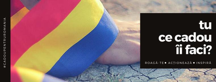 1 decembrie este Ziua Naţională a României! Tu ce cadou îi faci?
