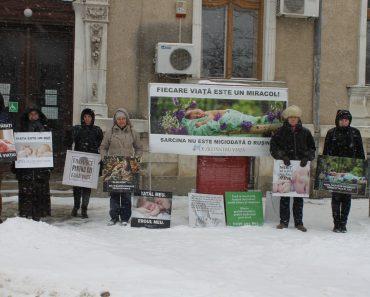 """Campania 40 de zile pro viață la Timișoara: """"Suntem aici pentru că iubim viața"""""""