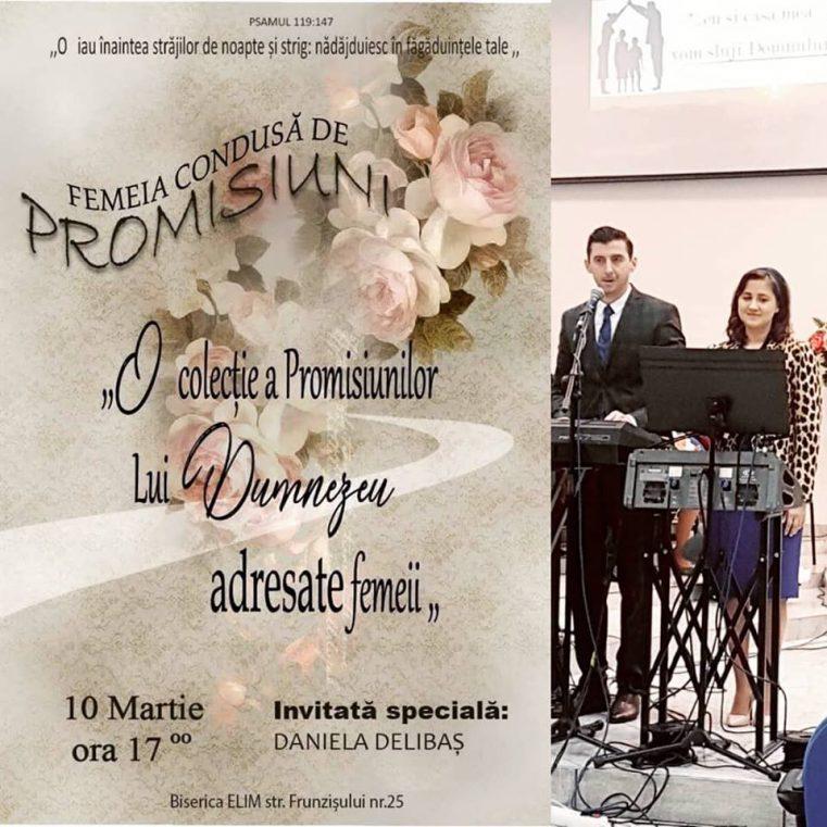 """Conferința """"Femeia condusă de PROMISIUNI"""" cu Daniela Delibaș la Cluj-Napoca"""