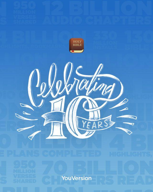 Aplicația Biblia la 10 ani de la lansare în App Store