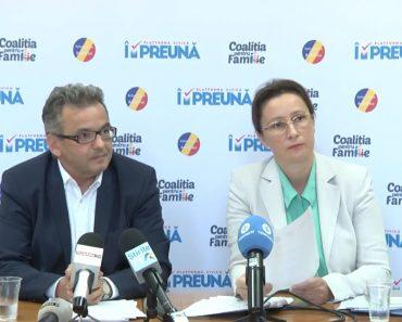 Conferința de Presă a Coaliției pentru Familie VIDEO