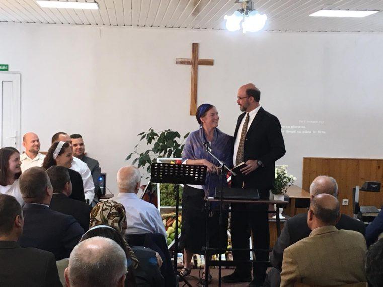 """""""20 de ani de har"""" pentru Biserica Creștină Baptistă """"Betania"""" din Covasna"""