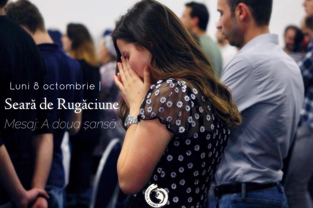 """Seară de rugăciune: """"A doua șansă"""" la Biserica """"Lumina Lumii"""" din Paris"""