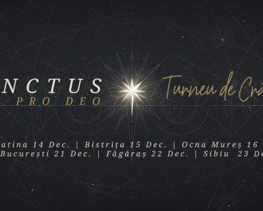 Sanctus Pro Deo pregătește în culise Turneul de Crăciun 2018!