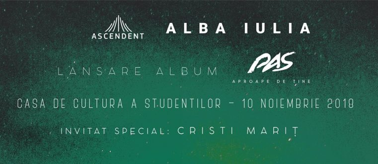 Întâlnirile marca Ascendent revin în forță, la Casa de Cultură a Studenților din Alba Iulia