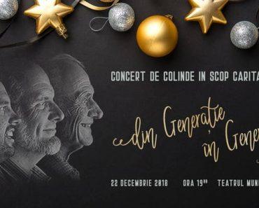 """Concertul de Colinde: """"Din generație, în generație"""" la cea de-a XII-a ediție, la Baia Mare"""