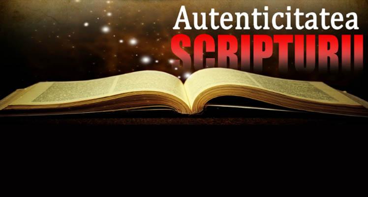 "Conferința de Apologetică: ""Autenticitatea Scripturii"" cu Livius Percy"