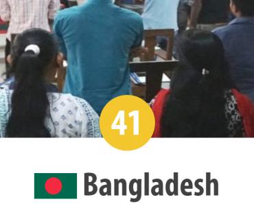 Bangladesh - locul 41 în Topul Mondial al Persecuției