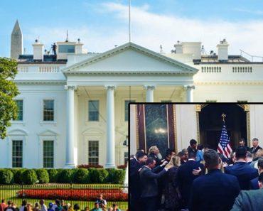 Dumnezeu cu siguranță lucrează în această țară: Un grup de creștini Îi cântă lui Dumnezeu la Casa Albă