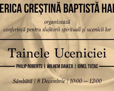 """Conferință Pastorală: """"Tainele Uceniciei"""" la Biserica Harul Lugoj"""