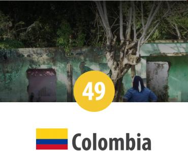 Columbia - locul 49 în Topul Mondial al Persecuției