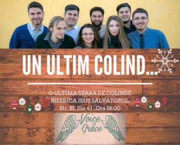 """""""Un ultim colind"""" cu grupul Voice of Grace la Chișinău"""