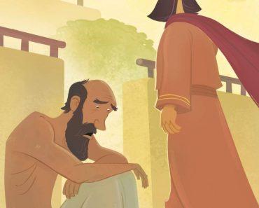 Lazăr - Sărac lipit pământului, dar ajutat de Dumnezeu