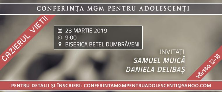 """Conferința pentru Adolescenți """"Cazierul Vieții"""" la Dumbrăveni"""