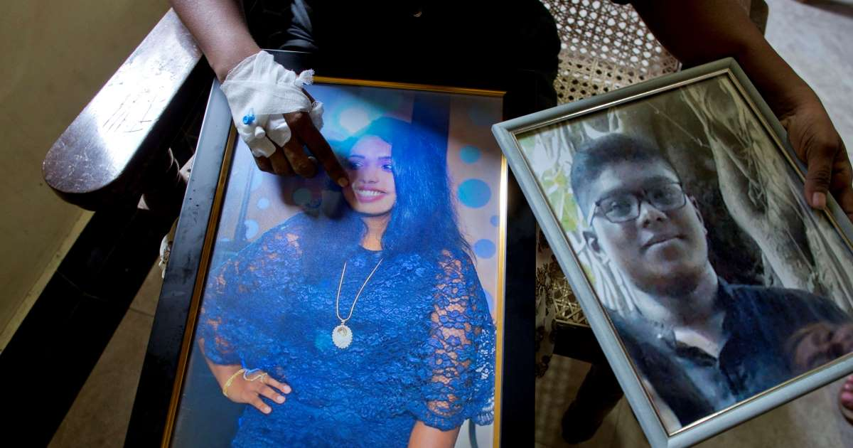 Durerea unei femei care și-a pierdut întreagă familie în atentatele din Sri Lanka