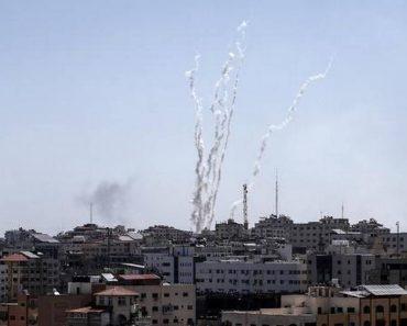 Israelul atacat cu rachete lansate din Fâşia Gaza